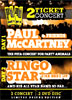 Pack Musica: Paul McCartney + Ringo Star