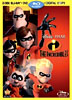 Los Increibles 4 Discos Blu-ray/DVD Combo + Digital Copy