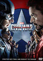 Capitán América Civil War DVD + BluRay